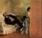 Edgar Degas Mr Mrs Edouard Manet oil painting picture wholesale