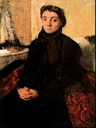 Edgar Degas Josephine Gaujelin oil painting picture wholesale