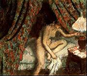 Edgar Degas Retiring oil painting picture wholesale