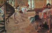 Edgar Degas The Rehearsal Sweden oil painting reproduction
