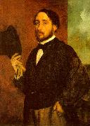 Edgar Degas Self Portrait_h Sweden oil painting reproduction