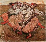 Edgar Degas Three Russian Dancers oil painting picture wholesale