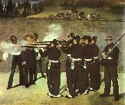 Edouard Manet The Execution of the Emperor Maximillion oil painting