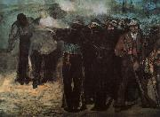 Edouard Manet Study for The Execution of the Emperor Maximillion oil painting