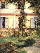 Edouard Manet The House at Rueil oil painting