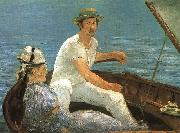 Edouard Manet Boating oil painting