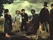 Edouard Manet The Old Musician oil painting artist