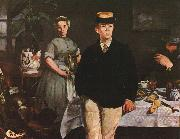 Edouard Manet The Luncheon in the Studio oil painting
