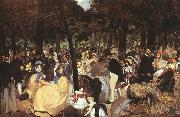 Edouard Manet Concert in the Tuileries oil painting artist