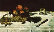 Edouard Manet Still Life Fruit on a Table oil painting picture wholesale