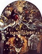El Greco The Burial of Count Orgaz oil painting artist
