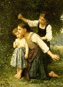 Elizabeth Gardner Bouguereau In The Woods oil painting picture wholesale
