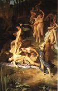 Emile Levy Death of Orpheus oil painting picture wholesale
