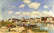 Eugene Boudin Trouville Sweden oil painting reproduction