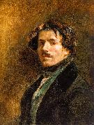 Eugene Delacroix Self Portrait _6 oil painting artist