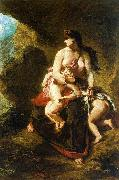 Eugene Delacroix Medea oil painting picture wholesale