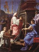 Eustache Le Sueur Caligula Depositing the Ashes of his Mother and Brother in the Tomb of his Ancestors oil painting picture wholesale