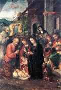 FASOLO, Bernardino Nativity se oil painting artist