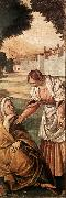 FERRARI, Gaudenzio St Anne Consoled by a Woman dfg oil painting picture wholesale
