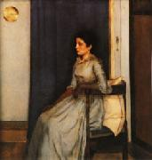 Fernand Khnopff Marie Monnom oil painting