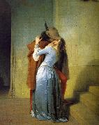 Francesco Hayez The Kiss oil painting artist
