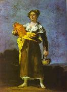 Francisco Jose de Goya Girl with a Jug oil painting picture wholesale