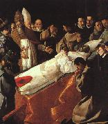 Francisco de Zurbaran The Lying in State of St.Bonaventura oil painting picture wholesale