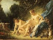 Francois Boucher Diana Leaving her Bath oil painting picture wholesale