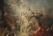 Francois Boucher Pygmalion and Galatea Sweden oil painting reproduction