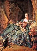 Francois Boucher The Marquise de Pompadour oil painting picture wholesale