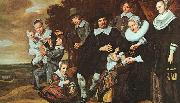 Frans Hals A Family Group in a Landscape oil painting picture wholesale