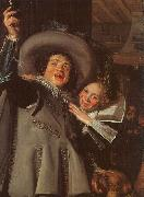 Frans Hals Young Man and Woman in an Inn oil painting picture wholesale