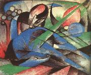 Franz Marc Dreaming Horse oil painting picture wholesale