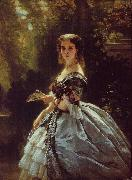 Franz Xaver Winterhalter Princess Elizabeth Esperovna Belosselsky-Belosenky, Princess Troubetskoi oil painting picture wholesale
