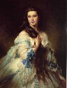 Franz Xaver Winterhalter Madame Barbe de Rimsky-Korsakov oil painting picture wholesale