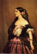 Franz Xaver Winterhalter Adelina Patti oil painting picture wholesale