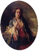 Franz Xaver Winterhalter Katarzyna Branicka, Countess Potocka oil painting picture wholesale