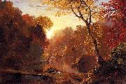 Frederic Edwin Church Autumn in North America oil painting picture wholesale