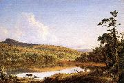 Frederic Edwin Church North Lake oil painting artist