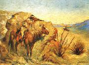 Frederick Remington Apache oil painting picture wholesale
