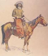 Frederick Remington Arizona Cowboy oil