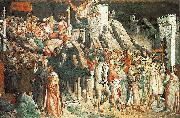 GADDI, Agnolo The Triumph of the Cross (detail) sdg oil painting picture wholesale