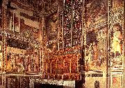GADDI, Taddeo General view of the Baroncelli Chapel sg oil painting picture wholesale