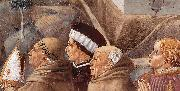 GOZZOLI, Benozzo Scenes from the Life of St Francis (detail of scene 7, south wall) gh oil painting picture wholesale