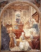 GOZZOLI, Benozzo Birth of Mary sdg oil painting picture wholesale
