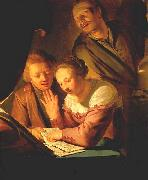 GREBBER, Pieter de Musical Trio dfh oil painting picture wholesale