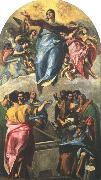 GRECO, El Assumption of the Virgin dfg oil painting picture wholesale