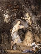 GREUZE, Jean-Baptiste Votive Offering to Cupid ghf oil painting picture wholesale