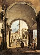 GUARDI, Francesco An Architectural Caprice oil painting picture wholesale