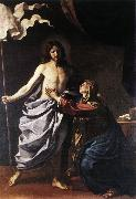 GUERCINO The Resurrected Christ Appears to the Virgin hf oil painting picture wholesale